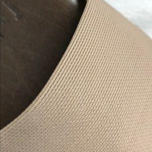 Munro Shoes - Munro American Tan Tech Stretch Fabric Slides 8